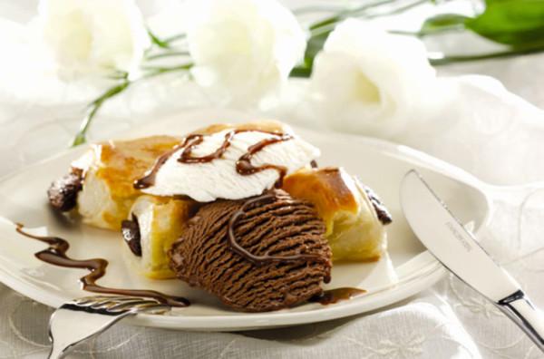 Dondurmalı Milföy Pasta